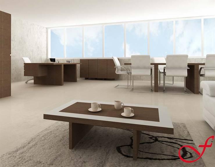 coffee table - italian style: Complessi per uffici in stile  di Fenice Interiors