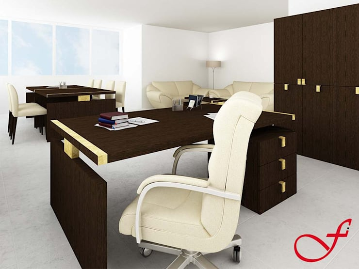 desk - classic style: Complessi per uffici in stile  di Fenice Interiors