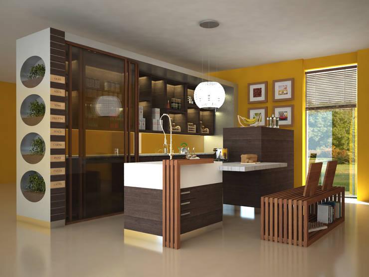 Concept cucina: Cucina in stile  di Architetto ANTONIO ZARDONI
