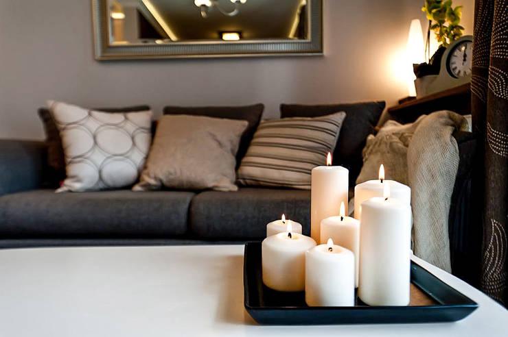 Zdjęcie w tle: styl , w kategorii Salon zaprojektowany przez AgiDesign