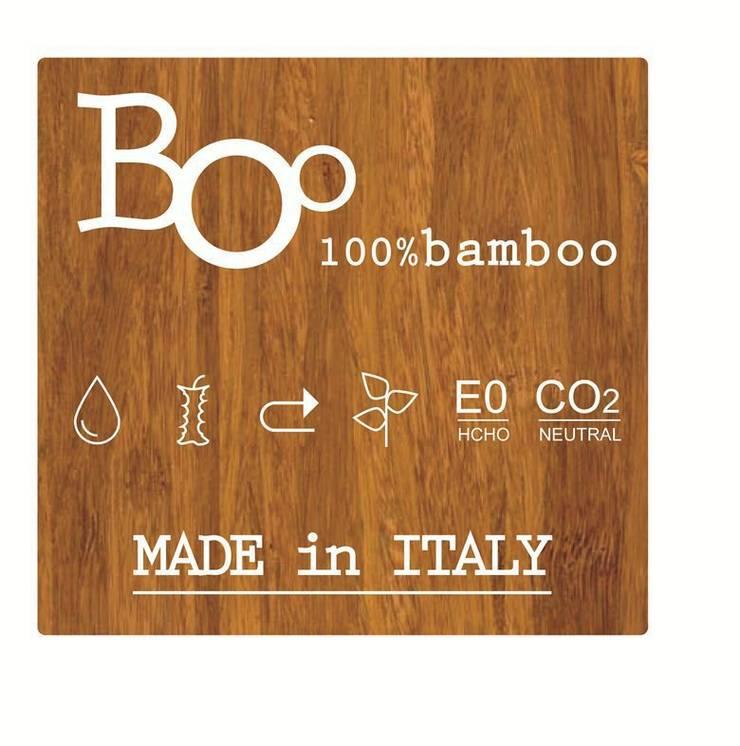 100% BamBoo: Allestimenti fieristici in stile  di Architetto ANTONIO ZARDONI