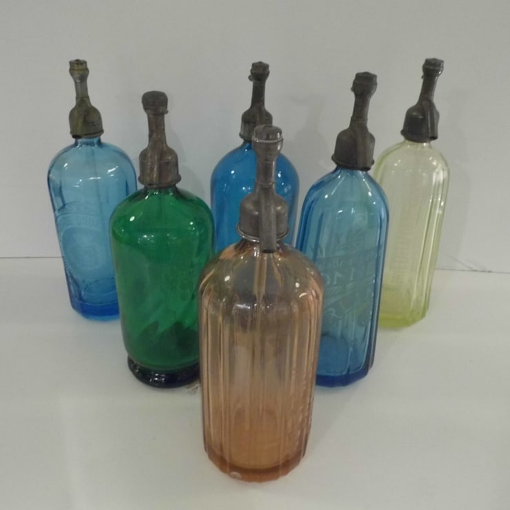 Vintage Soda Syphons:  Kitchen by Travers Antiques