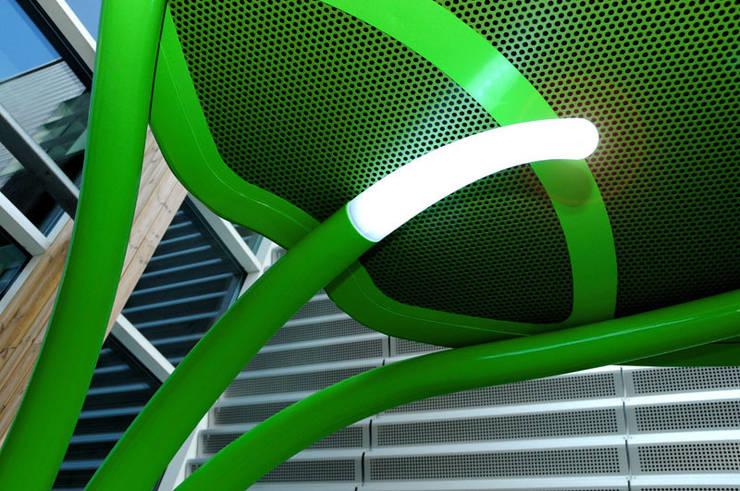 Lotus: Giardino in stile  di Giancarlo Zema Design Group