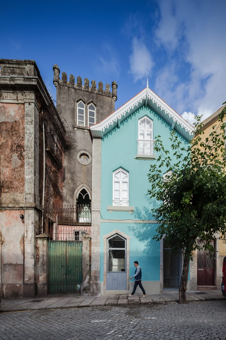 The Three Cusps Chalet Ausgefallene Häuser von Tiago do Vale Arquitectos Ausgefallen