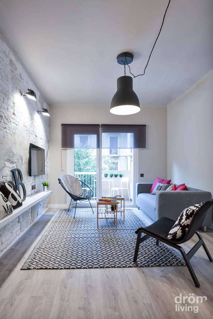 skandinavische Wohnzimmer von Dröm Living