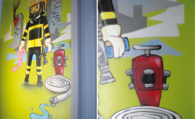 DECORATION ORIGINALE DE TOILETTES: Salle de bain de style de style eclectique par Popek décoration