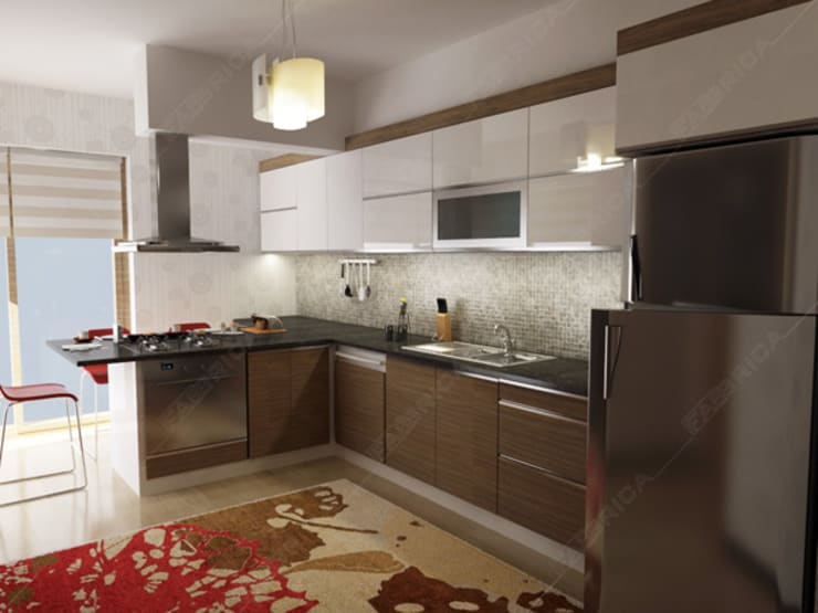 modern Kitchen by Fabbrica Mobilya