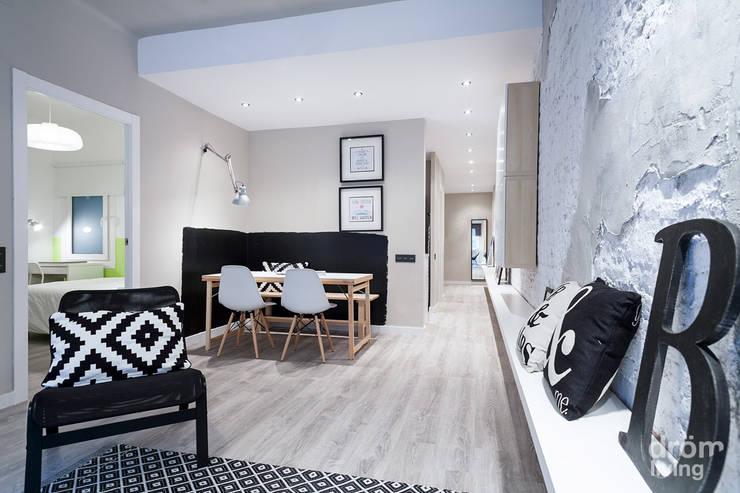 scandinavian Dining room by Dröm Living