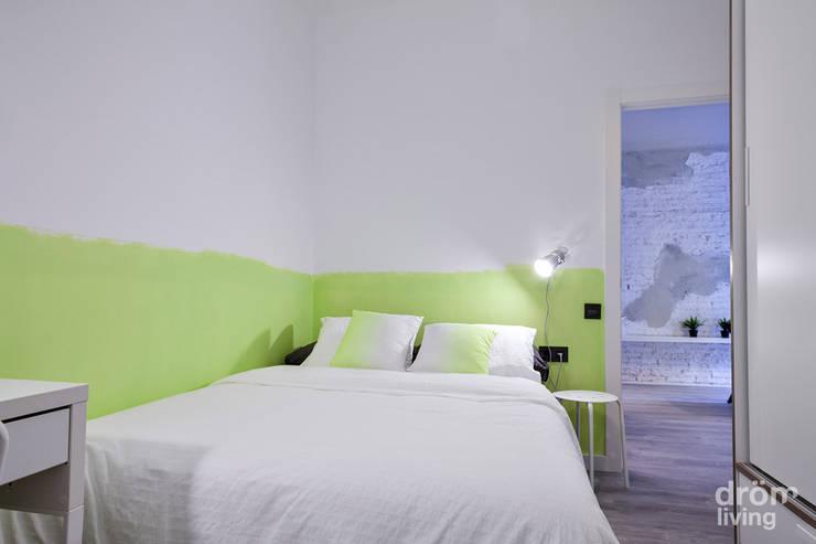 Dormitorio verde: Dormitorios de estilo escandinavo de Dröm Living
