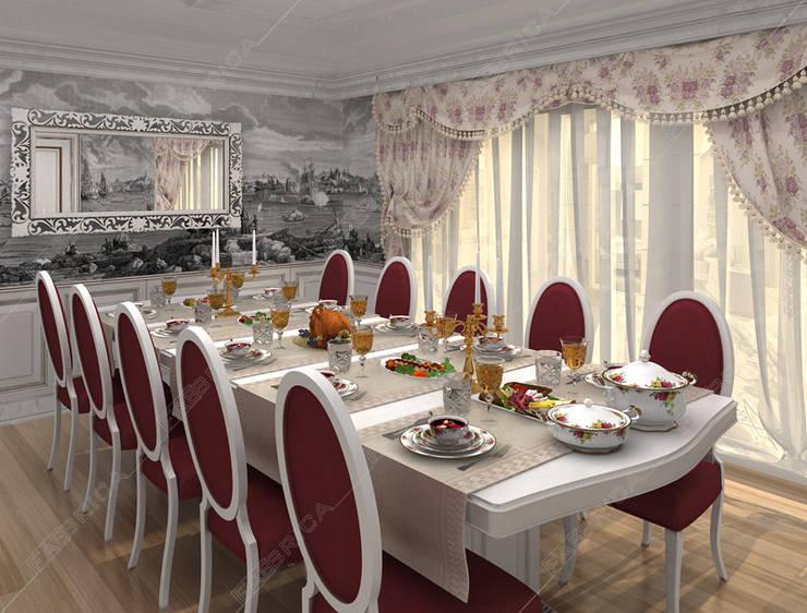 Fabbrica Mobilya – ÖZEL EV TASARIMI:  tarz Yemek Odası