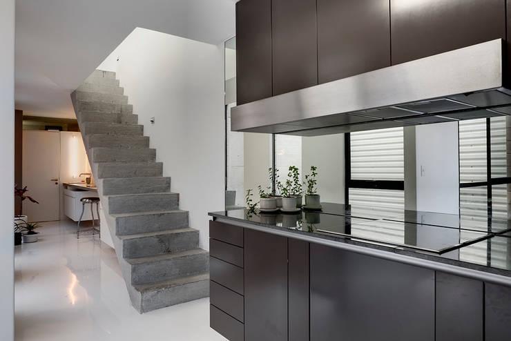 modern Kitchen by AT103