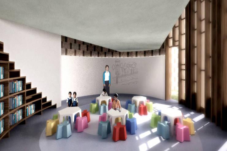 Escuelas de estilo  por AT103, Moderno