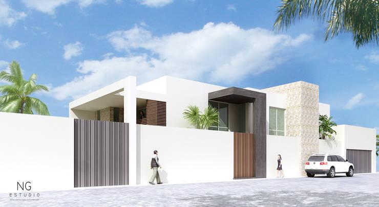A-D: Casas de estilo  por NGestudio