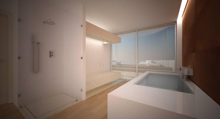 Jaca resort & SPA: Hotel in stile  di Studio Candeloro Architects