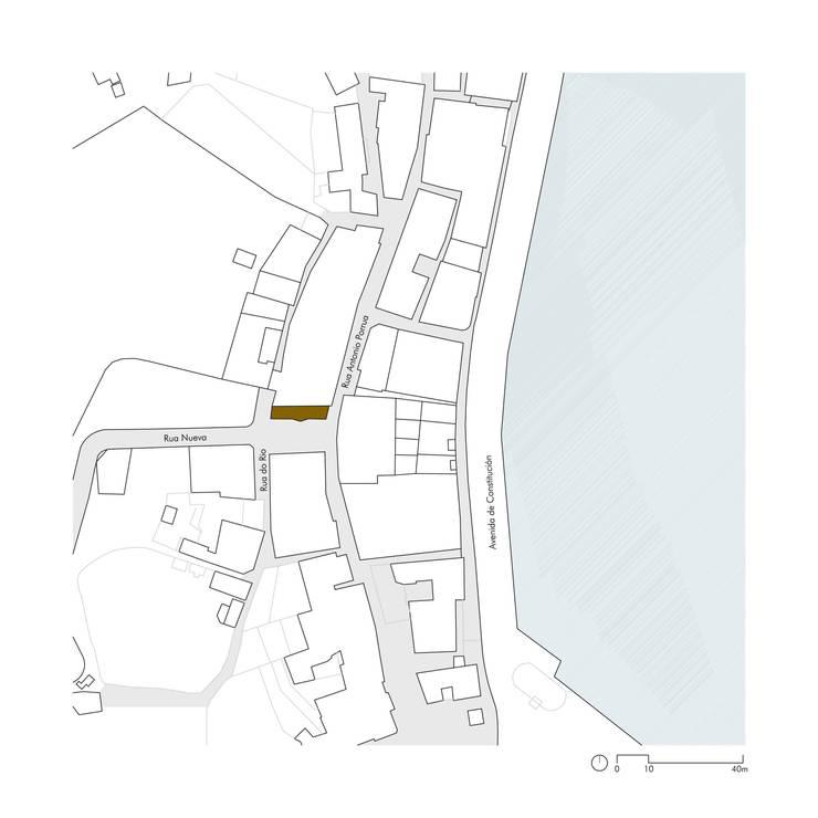 Casa Chao: Casas de estilo  de CREUSeCARRASCO arquitectos