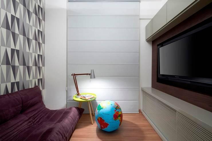 Apartamento Sion: Casas  por Graziella Nicolai Arquitetura e Interiores