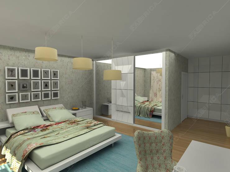 Fabbrica Mobilya – KUMTAŞ KONUT :  tarz Yatak Odası