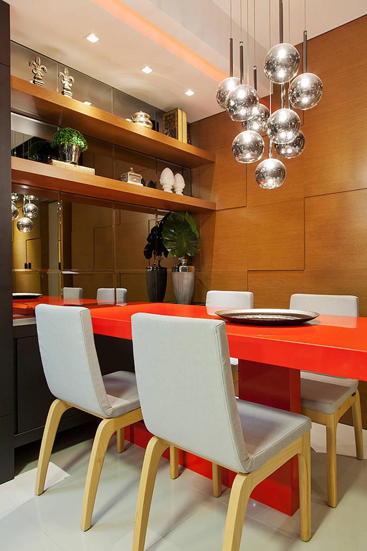 Jantar: Salas de jantar  por AL11 ARQUITETURA