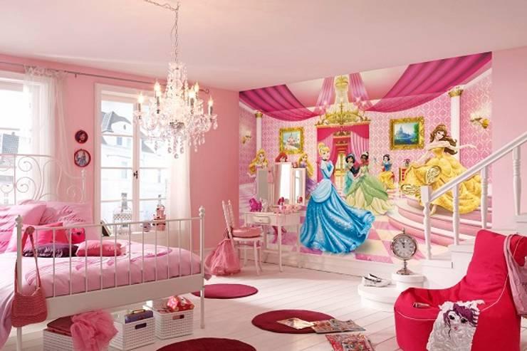 Dormitorios infantiles  de estilo  por Allwallpapers