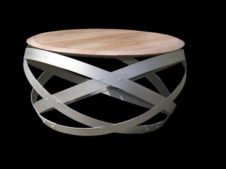 table basse: Salon de style de style eclectique par  Douelledereve / Eco design construction