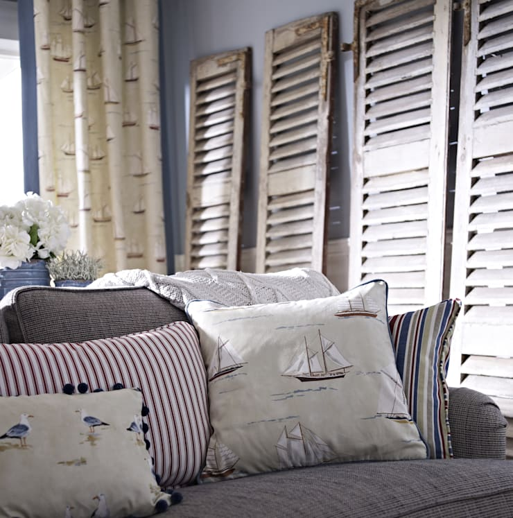Living room by Prestigious Textiles, Country