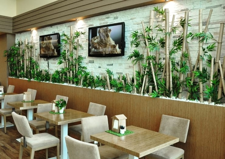 Interior landscaping by özgarip cam ltd şti