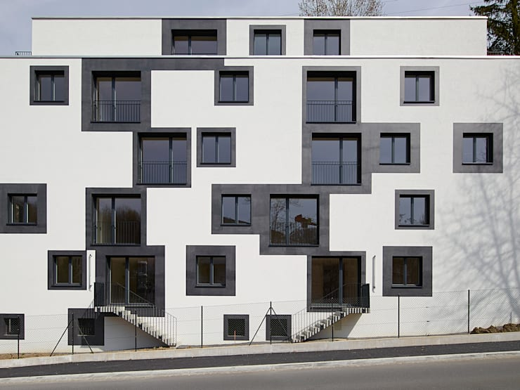 façade sud: Maisons de style  par TRIBU architecture