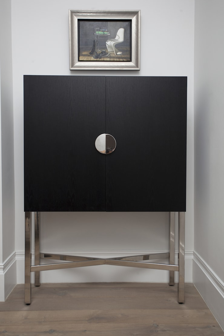 Furniture and Artwork:  Dining room by Roselind Wilson Design