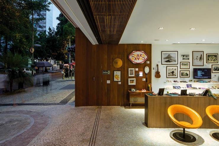 Ipanema House/Casa Ipanema: Espaços comerciais  por Pascali Semerdjian Arquitetos