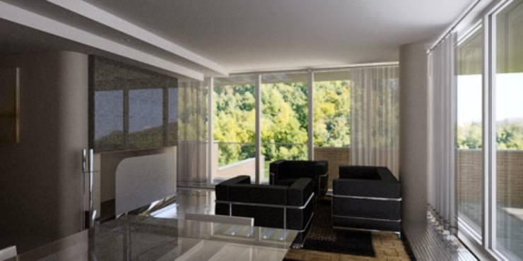 Villa privata: Case in stile  di Albini Architettura, Moderno