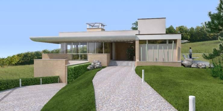 Villa privata: Case in stile  di Albini Architettura