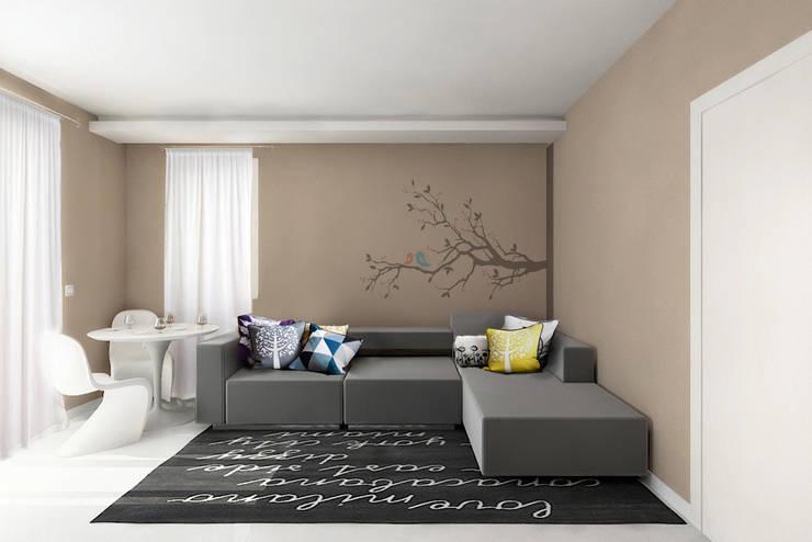 Design di interni.: Case in stile  di Albini Architettura, Moderno