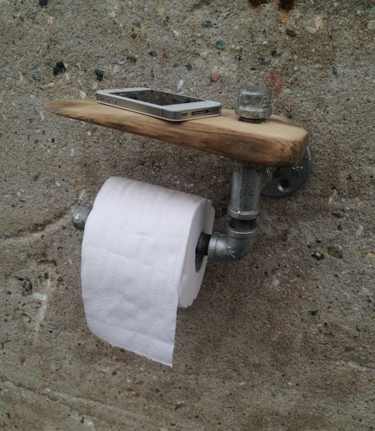 Porte papier hygiénique: Salle de bain de style  par Pür cachet