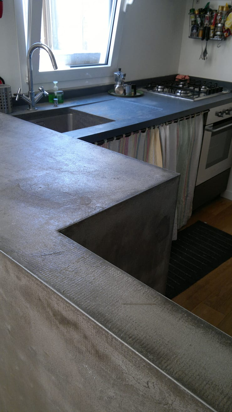 sottotetto cittadino di Luca Callegari Architetto / Milano Moderno
