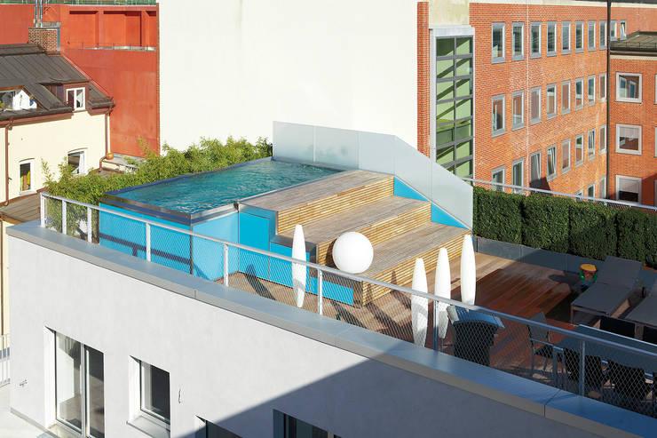 POLYTHERM-Edelstahlpool:  Pool von Polytherm GmbH.,