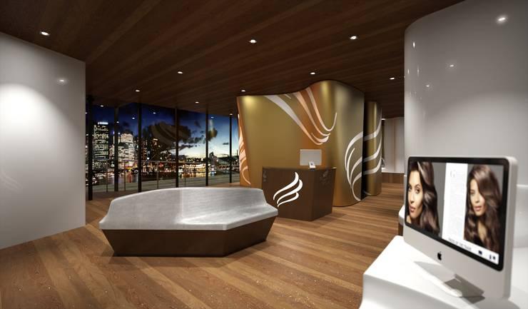 Perspectiva 3D -Spa: Spa de estilo  de Realistic-design