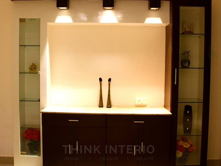 Dining's: modern Dining room by THINK INTERIO