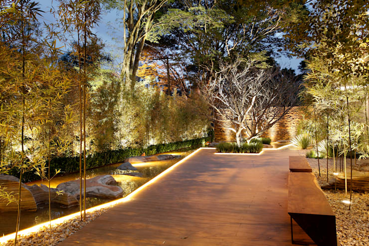 Jardins  por Hanazaki Paisagismo