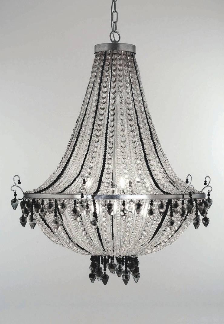Lámpara de Techo Catalda 18 Luces: Salones de estilo  de Paco Escrivá Muebles