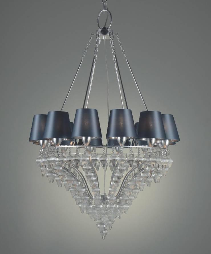 Lámpara de Techo Ophelia 12 Luces: Salones de estilo  de Paco Escrivá Muebles