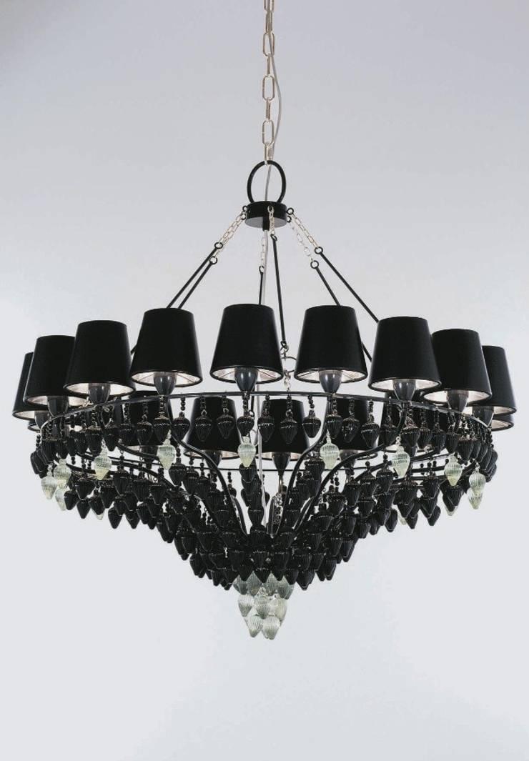 Lámpara de Techo Ophelia 18 Luces: Salones de estilo  de Paco Escrivá Muebles