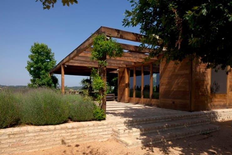 Giardino in stile in stile Mediterraneo di fuusta