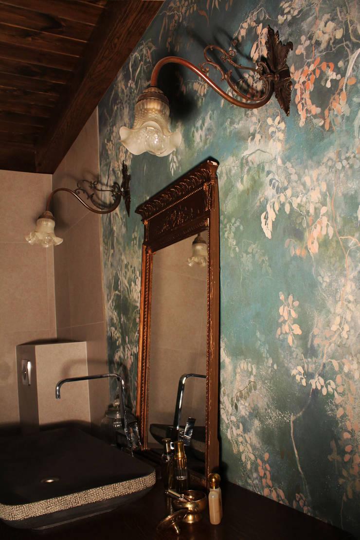 łazienka szarobialo.pl: styl , w kategorii  zaprojektowany przez szaro-biało