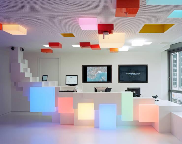 Google Foyer:  Bürogebäude von team licht