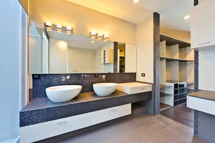 baños Baños minimalistas de Excelencia en Diseño Minimalista