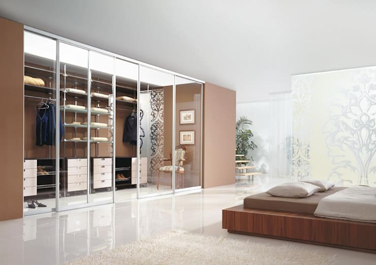 Dormitorios de estilo  de Sliding Wardrobes World Ltd