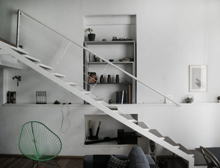Projekty,  Gospodarstwo domowe zaprojektowane przez MDC MUEBLES DE CONCRETO