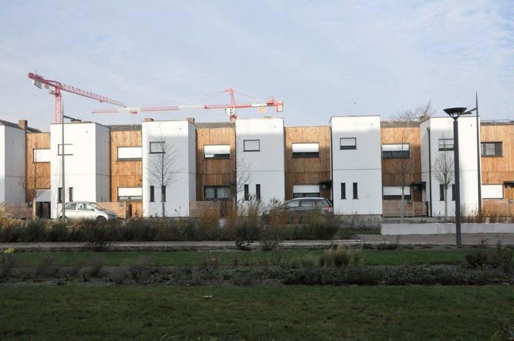 Rue Wagner – LILLE – 2013 – <q>21 Logements individuels</q>:  de style  par Bertrand Danel Architecte