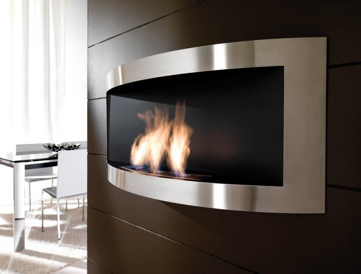 Chimeneas modernas en casa informaci n y dise os - Modelos de chimeneas modernas ...