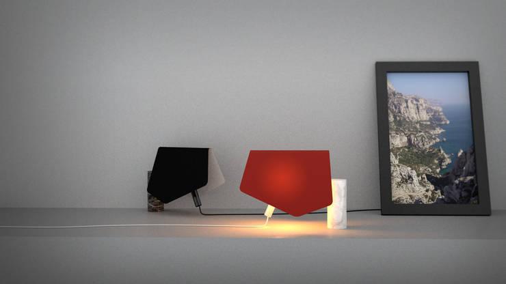 MORGIOU & SUGITON: Maison de style  par Studio Invivo